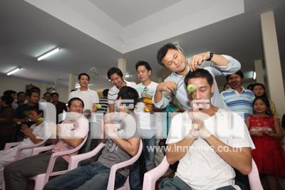 Pong Nawat Enters Monkhood